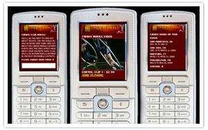 Cirque du Soleil - WAP mobile pages thumbnail