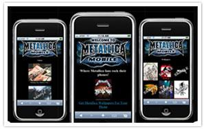 Metallica mobile WAP thumbnail