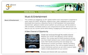 g8wave Mobile Marketing website  secondary thumbnail