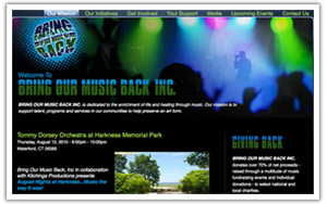 Bring Our Music Back website thumbnail