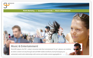 g8wave Mobile Marketing website  thumbnail