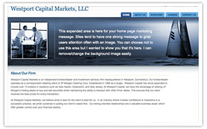 Westport Capital Markets website thumbnail